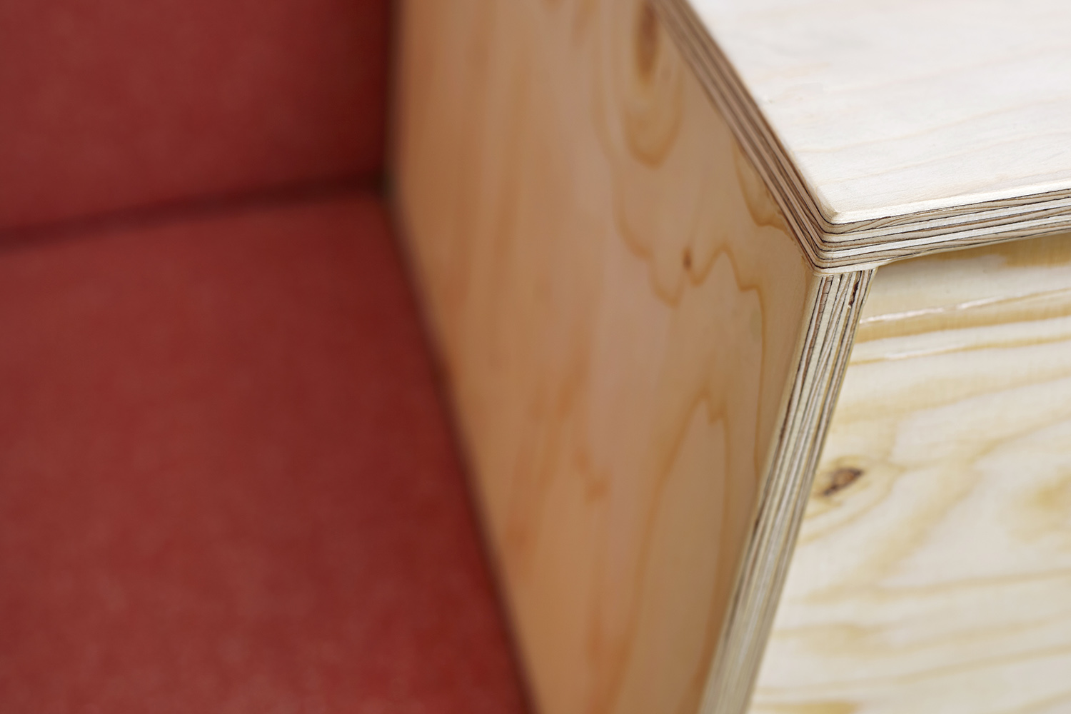 details box shaped sofa