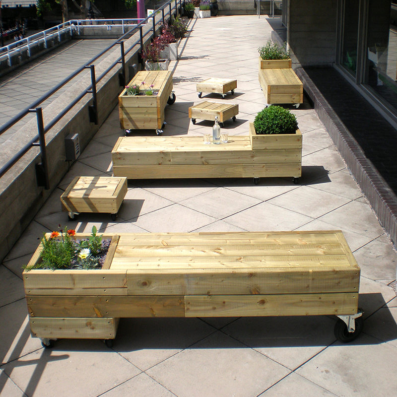 group fotos outdoor furniture on wheels