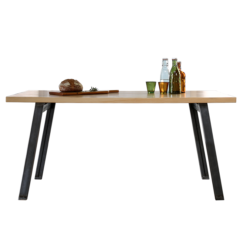 no background pine wood table